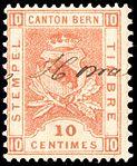 Switzerland Bern 1895 revenue 10c - 52 VIII-95 2-K.jpg