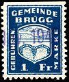 Switzerland Brügg 1935 revenue 1Fr - 6.jpg