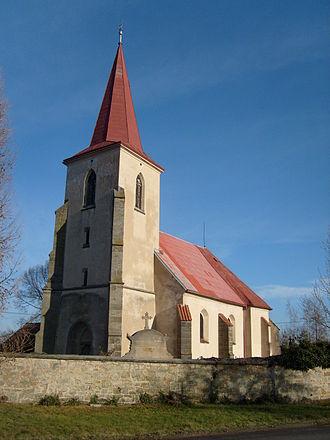 Orel (Chrudim District) - Saint George's church, Orel