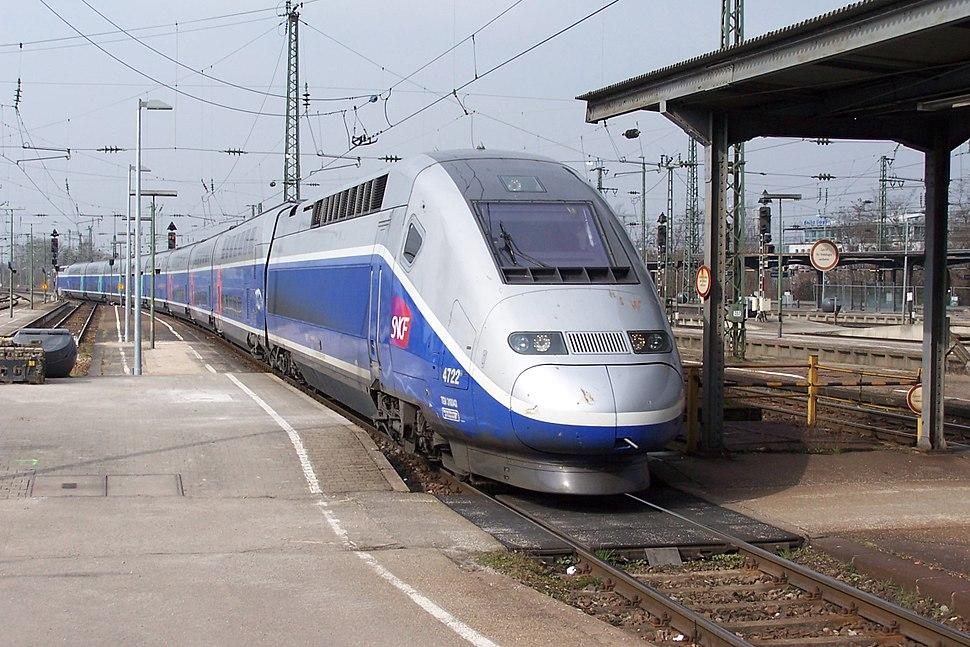 TGV 2N2 4722 Karlsruhe