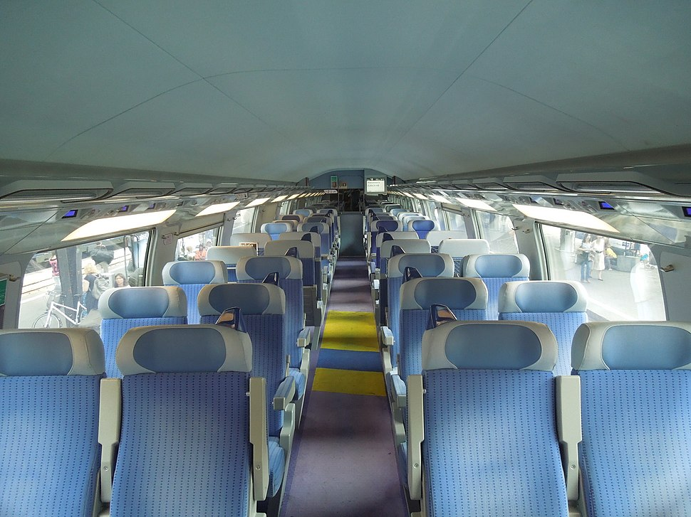 TGV 2N2 interior