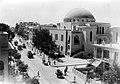 THE GRREAT SYNAGOGUE ON ALLENBY STREET IN TEL AVIV. בית הכנסת הגדול ברחוב אלנבי בתל אביב.D403-054.jpg
