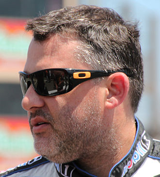 Tony Stewart - Stewart at the 2015 Toyota/Save Mart 350