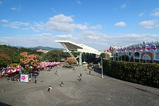 Taipei Expo Park Entry Plaza 2019.jpg