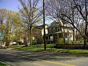 Takoma Park Historic District (Takoma Park, Maryland) - Houses along Takoma Avenue