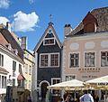 Tallinn Raekoja plats maison du XV° siècle (2).JPG