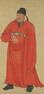 Emperor Gaozu of Tang Founding emperor (618–626) of the Tang Dynasty
