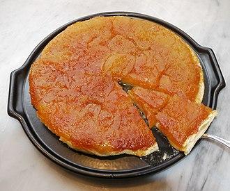 Apple pie - Tarte Tatin, a French variation on apple pie
