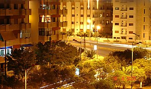 Tartus, night time