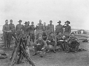 Australian Army Reserve - Members of the militia in Tasmania, c. 1913