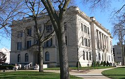 none Tazewell County Courthouse in Pekin