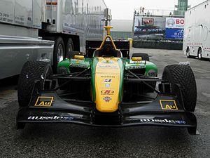 Team Australia - A Team Australia-run Panoz DP01 Champ Car chassis in 2007.