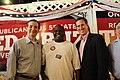 Ted Cruz, Rick Santorum, and Congressman Michael Burgess (7742714688).jpg