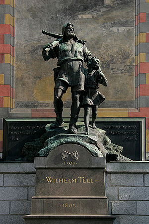 Richard Kissling - William Tell Monument, Altdorf