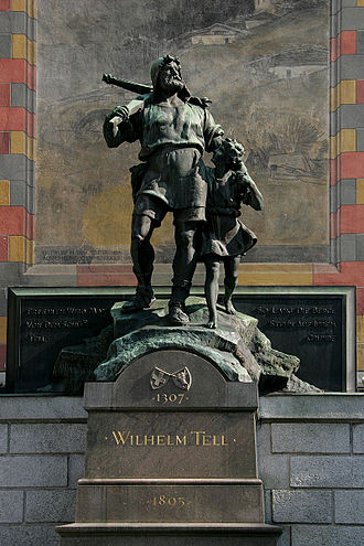 Culture of Switzerland - Image: Telldenkmal