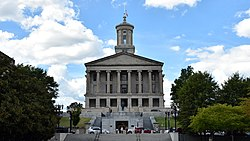 Tennessee State Capitol - Nashville Tn (46595212294) (cropped)