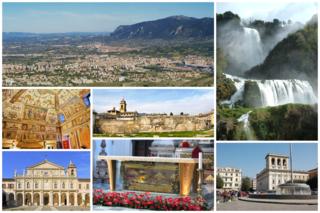 Terni city in Umbria, Italy