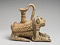 Terracotta askos (vessel) in the form of a lion MET DP121307.jpg