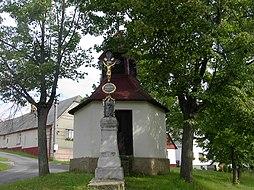 Kaplička v Těškově.