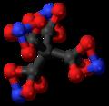 Tetranitratoxycarbon 3D ball.png