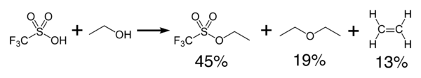 triflic acid condensation reaction