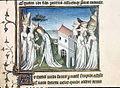 Thétis, Achille et les sœurs de Lycomède - Maître d'Orose - BL Burney 257, f.230.jpg