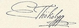 Imre Thököly - Image: Thököly Imre signature