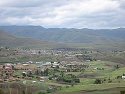 Skyline of Thaba-Tseka