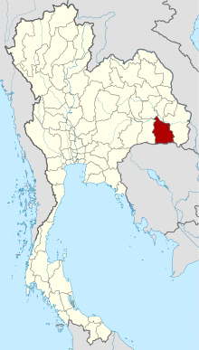Thailand Sisaket locator map.svg