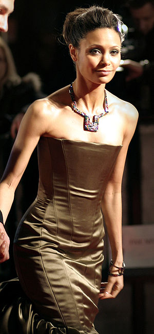 Thandie Newton at the 2007 BAFTAs