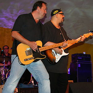 The Smithereens - Three of the original members, Diken, Babjak, and DiNizio in 2009