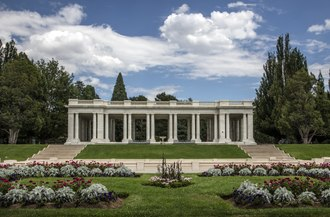 Cheesman Park started as a cemetery. The 1908 pavilion in Denver, Colorado's, Cheesman Park LCCN2015633572.tif