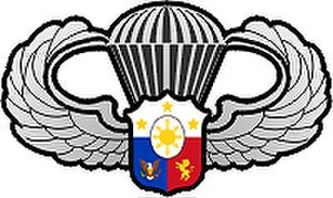 710th Special Operations Wing - Image: The AFP Parachutist Badge Basic