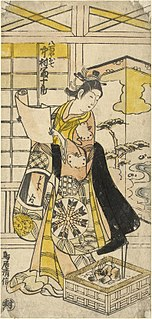 Torii Kiyonobu II Japanese artist