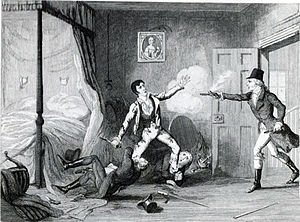 Lord Edward FitzGerald - Arrest of Lord Edward FitzGerald (George Cruikshank)