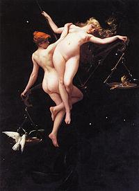 The Balance of the Zodiac by Luis Ricardo Falero