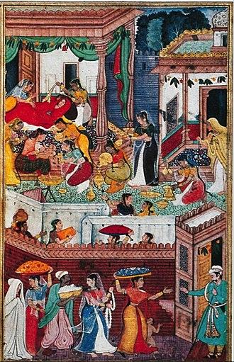 Kausalya - kausalya give birth Rama.