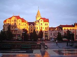 Hotel Vulturul Negru, Oradea, Romania. Archite...