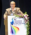 The Chief Minister of Goa, Shri Digambar Kamat addressing at the closing ceremony of the 41st IFFI-2010, at Panaji, Goa on December 02, 2010.jpg