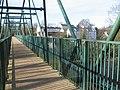 The Clyde Walkway crosses the David Livingstone Memorial Bridge - geograph.org.uk - 341642.jpg