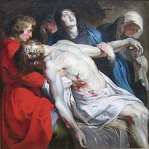 Demidov Collection - Image: The Entombment by Peter Paul Rubens, Getty Center