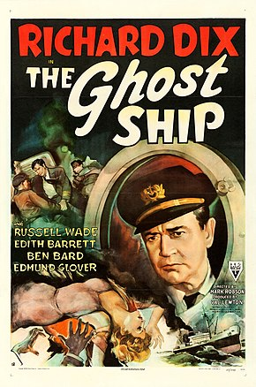 Description de l'image The Ghost Ship (1943 poster).jpg.