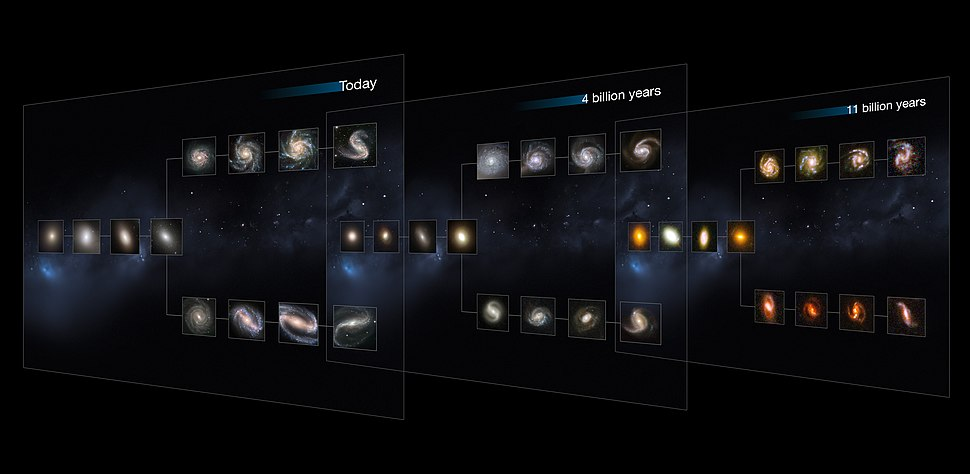 The Hubble Sequence throughout the Universe%27s history