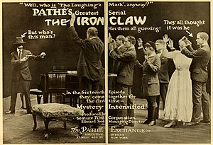 The Iron Claw (1916 serial) - Image: The Iron Claw 3