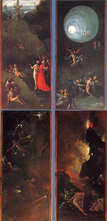 The Last Judgement 2 Bosch