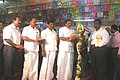 The Member of Parliament, Shri S.N.V. Chitthan inaugurating three day long Bharat Nirman Public Information Campaign, at Palani, Dindigul district, in Tamil Nadu on September 02, 2010.jpg