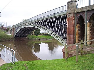 Mythe Bridge bridge in United Kingdom