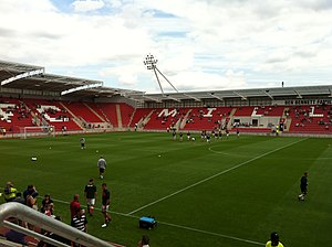Das New York Stadium der Rotherham United