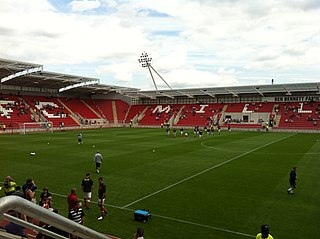 New York Stadium football stadium in Rotherham, South Yorkshire, England