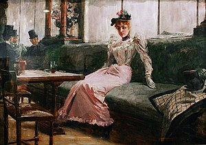 English: The Parisian Life (French: Interior d...
